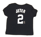 Yankees Toddler Jeter Navy Name & Number Tee