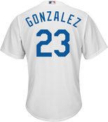 Adrian Gonzalez LA Dodgers Replica Youth Home Jersey