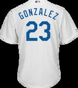 Adrian Gonzalez LA Dodgers Replica Adult Home Jersey