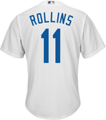 Jimmy Rollins LA Dodgers Replica Adult Home Jersey