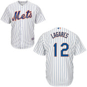 Juan Lagares NY Mets Replica Adult Home Jersey