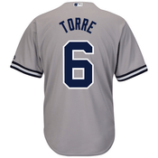 Joe Torre NY Yankees Replica Road Jersey