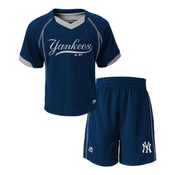 Yankees Baby Performance Short Set