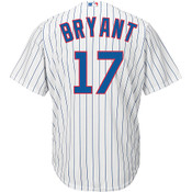 Kris Bryant Chicago Cubs Replica Youth Home Jersey - back
