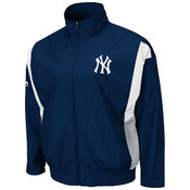 Yankees Call Maker Full-Zip Lightweight Jacket by Majestic Athletic