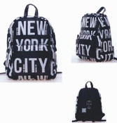 Robin-Ruth NY Black/White Backpack