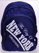 Robin-Ruth NY Blue Backpack