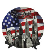 USA 8-inch Souvenir Plate