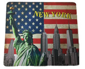 USA NY Skyline Mouse Pad