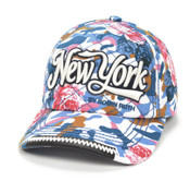 Robin-Ruth NY Floral Camouflage Cap-Dark