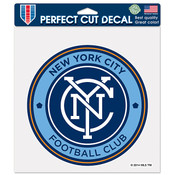 NYCFC Perfect Cut Decal