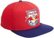 NY Red Bulls Red/Navy Snapback Hat