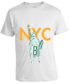 NY Liberty T-shirt -White
