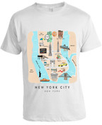 Lost in NY T-shirt -White