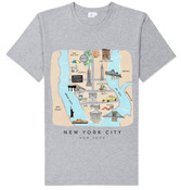 Lost in NY T-shirt -Grey