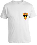 NY loves Pizza T-shirt -White