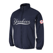 New York Yankees Authentic Double Climate On-Field Jacket by Majestic Athletic