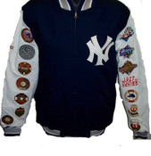 New York Yankees Championship World Series Cotton Twill Jacket