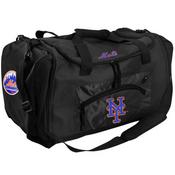 New York Mets Roadblock Duffle Bag - Black