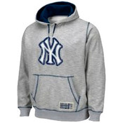 NY Yankees Forged Grey Hoodie Sweatshirt