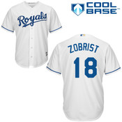 Ben Zobrist Youth Jersey - KC Royals Replica Youth Home Jersey