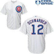 Kyle Schwarber Jersey - Chicago Cubs Replica Adult Home Jersey