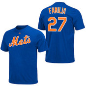 Jeurys Familia T-Shirt - Blue New York Mets Adult T-Shirt