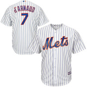 Travis D'Arnaud Youth Jersey - New York Mets Replica Kids Home Jersey