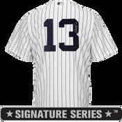 Alex Rodriguez Signature Series No Name Jersey