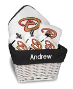 Arizona Diamonbacks Personalized 6-Piece Gift Basket