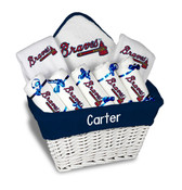 Atlanta Braves Personalized 9-Piece Gift Basket