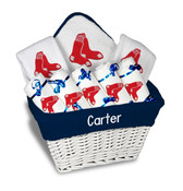 Boston Red Sox Personalized 9-Piece Gift Basket