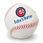 Chicago Cubs Personalized Baseball Pillow