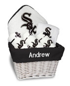 Chicago White Sox Personalized 6-Piece Gift Basket
