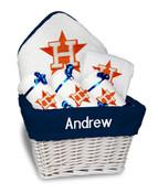 Houston Astros Personalized 6-Piece Gift Basket