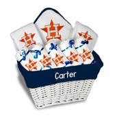 Houston Astros Personalized 9-Piece Gift Basket