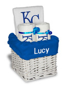 KC Royals Personalized 3-Piece Gift Basket