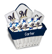 Milwaukee Brewers Personalized 9-Piece Gift Basket