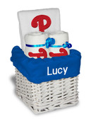 Philadelphia Phillies Personalized 3-Piece Gift Basket