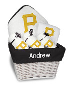 Pittsburgh Pirates Personalized 6-Piece Gift Basket