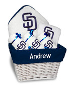 SD Padres Personalized 6-Piece Gift Basket