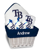 Tampa Bay Rays Personalized 6-Piece Gift Basket