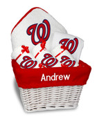 Washington Nationals Personalized 6-Piece Gift Basket