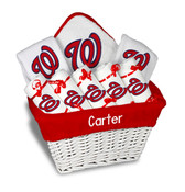 Washington Nationals Personalized 9-Piece Gift Basket