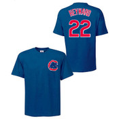 Jayson Heyward T-Shirt - Blue Chicago Cubs Adult T-Shirt