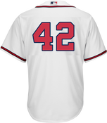 Jackie Robinson Day 42 Jersey - Atlanta Braves Replica Adult Home Jersey