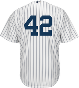 Jackie Robinson Day 42 Jersey - NY Yankees Replica Adult Home Jersey