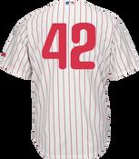 Jackie Robinson Day 42 Jersey - Philadelphia Phillies Replica Adult Home Jersey