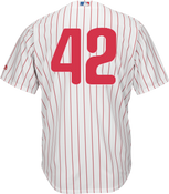 Jackie Robinson Day 42 Youth Jersey - Philadelphia Phillies Replica Kids Home Jersey