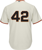 Jackie Robinson Day 42 Jersey - San Francisco Giants Replica Adult Home Jersey